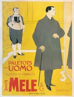 PALETOTS PER UOMO, ELEGANTI-PERFETTI / E. & A. MELE