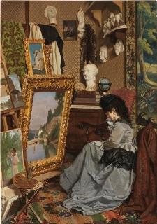 Una visita al mio studio (In attesa del pittore)